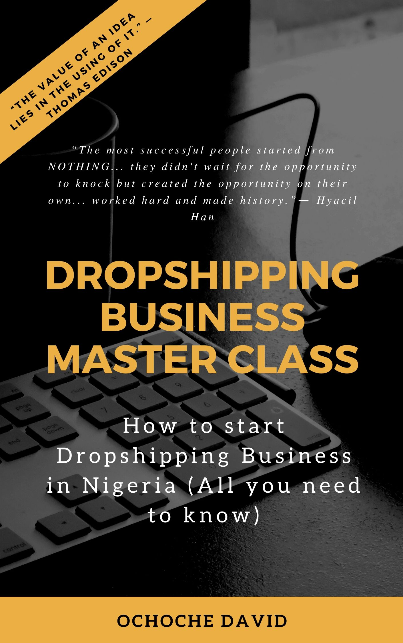 dropshipping business Cover