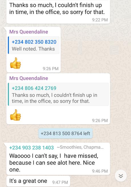 mini-importation student testimony