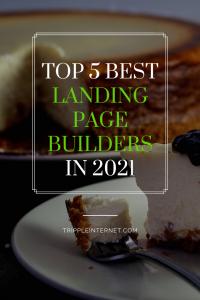 Top 5 Best Landing Page Builders pin