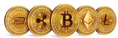 Five coins line