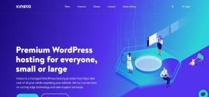 Kinsta managed WordPress hosting provider