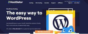 Necess WordPress hosting
