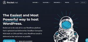 Rocket.net WordPress hosting provider