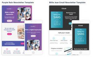Moosend newsletter samples