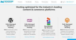 Necess hosting main sites