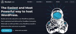 Rocket.net best web hosting sites